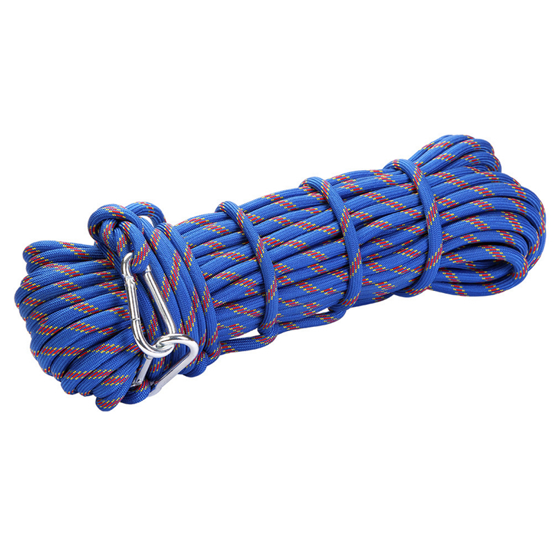 Outdoor Rock Climbing Rope Rock Climbing Equipment Emergency Rescue Safety Rope Hiking Accessory|Climbing Accessories| |  - title=