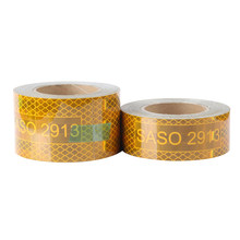 Reflective Adhesive Sticker Conspicuity Tape For Truck Trailer SASO 2913