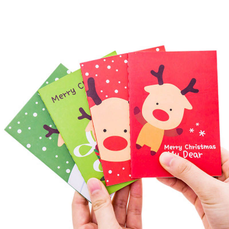 1pcs Christmas Notebooks Cute Stationery Planner Student Paper Organizer Cute Notebook Schedule Book Kawaii School Supplies