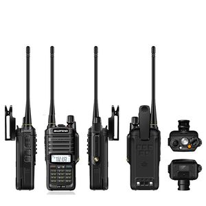 Image 5 - 2 قطعة Baofeng UV XR 10 واط عالية الطاقة IP67 مقاوم للماء اتجاهين راديو ثنائي النطاق جهاز لاسلكي محمول للصيد التنزه تمطر