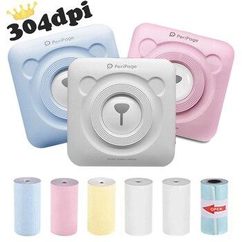 PeriPage-Mini impresora portátil de Fotos, 304 DPI, Bluetooth, impresión térmica de bolsillo,...