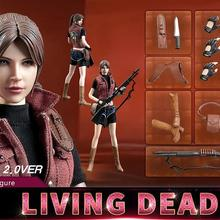 Hot Heart FD008 Zombie Killer Living Dead Ms.Red Claire 2.0 1/6 FIGURE