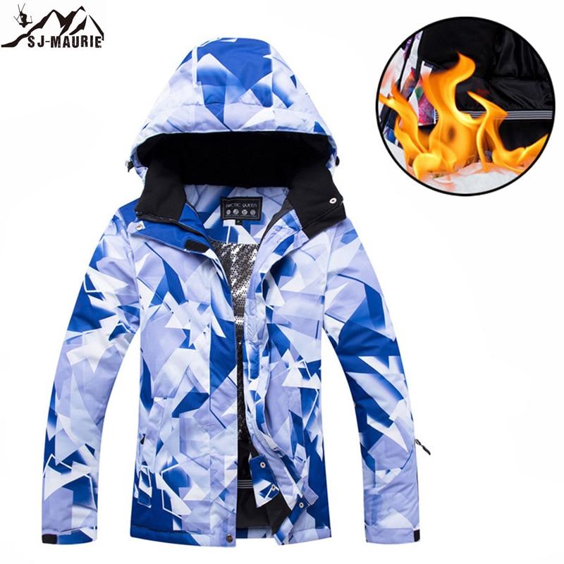 Vêtements De sport d'hiver femmes vestes De Ski snowboard randonnée Camping coupe-vent hiver Roupa De Esqui imperméable neige veste De Ski