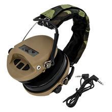 Тактическая гарнитура msa sordin microphoneless для охоты шумоподавление