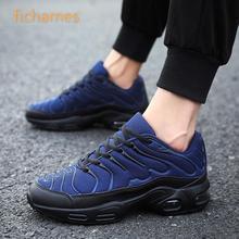 Mannen Casual Schoenen Merk Mannen Schoenen Mode Luchtkussen Lace Up Sneakers Ademend Comfortabele Mesh Flats Schoenen Zapatos hombre