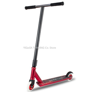 Complete Trick Scooters, Teenagers Pro Stunt Scooter with CNC 6061-T6 Aluminum Deck, Entry Level Freestyle Kick Scooters