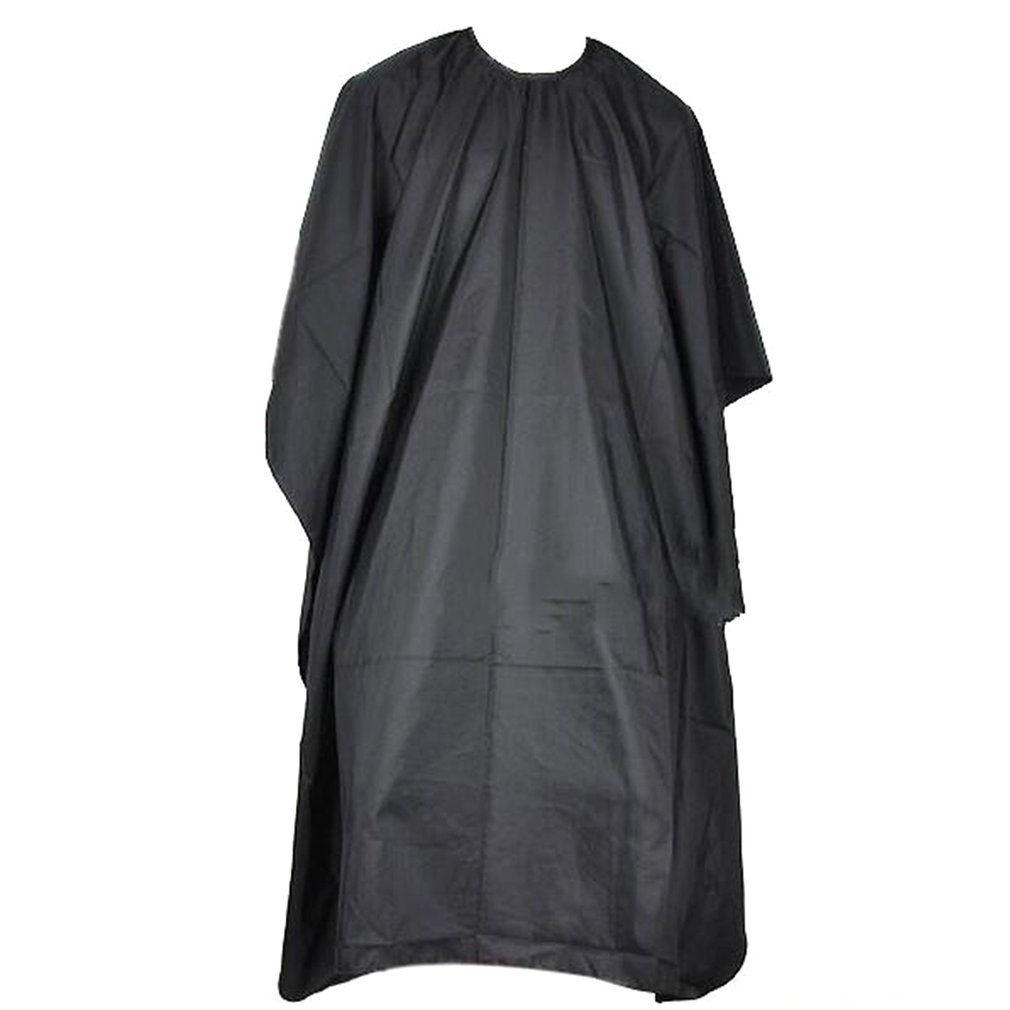 Professional Barber Cape Salon Clothing Nylon Barber Cape Hairdresser'S Cape Black Stain-Resistant Apron For Hairdressers