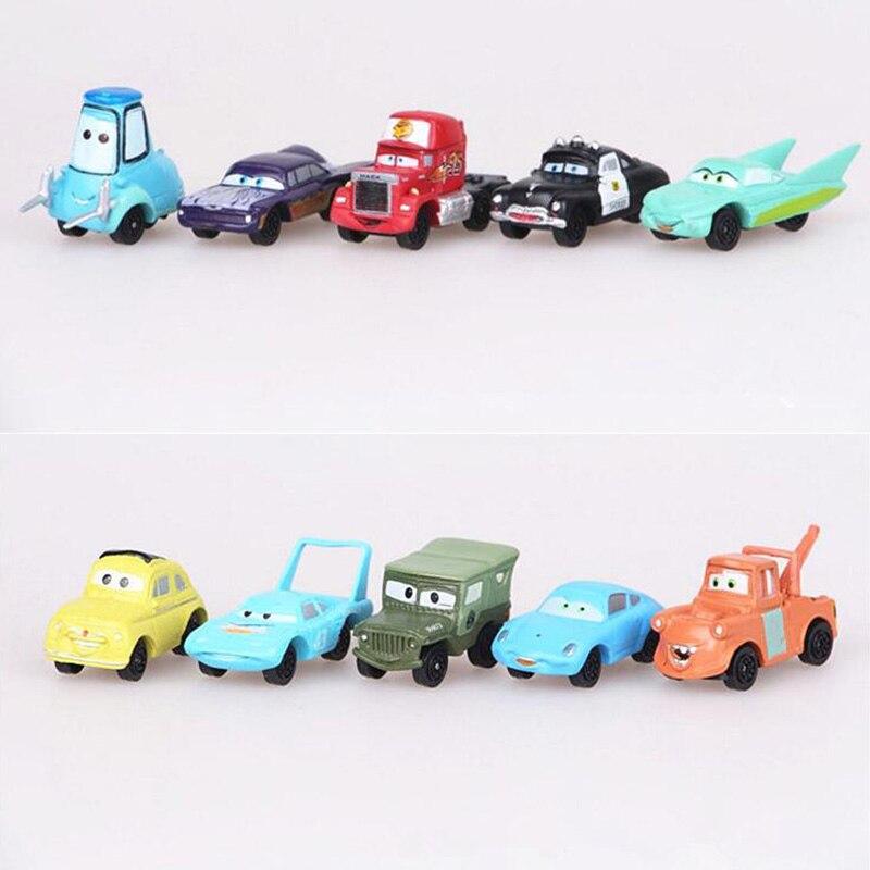 Pixar Cars Lightning McQueen Mater Sally Luigi Figures Jouets Kid14pcs//Set
