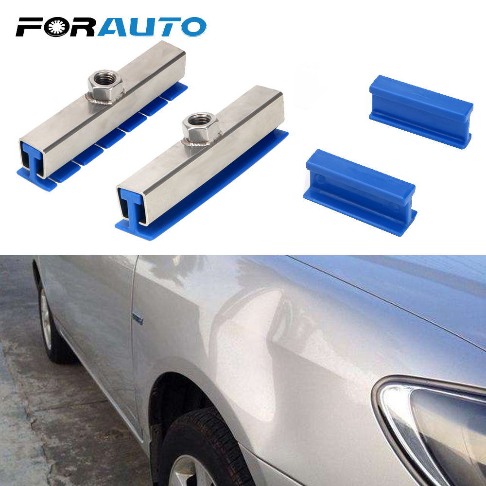FORAUTO Car Repair Tool Dent Puller Kit Car Dent Repairing Tool Set Dent Removal Auto Care Car-styling Blue