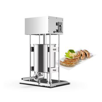 Electric vertical sausage stuffer 15L Automatic industrial meat fillers machine for