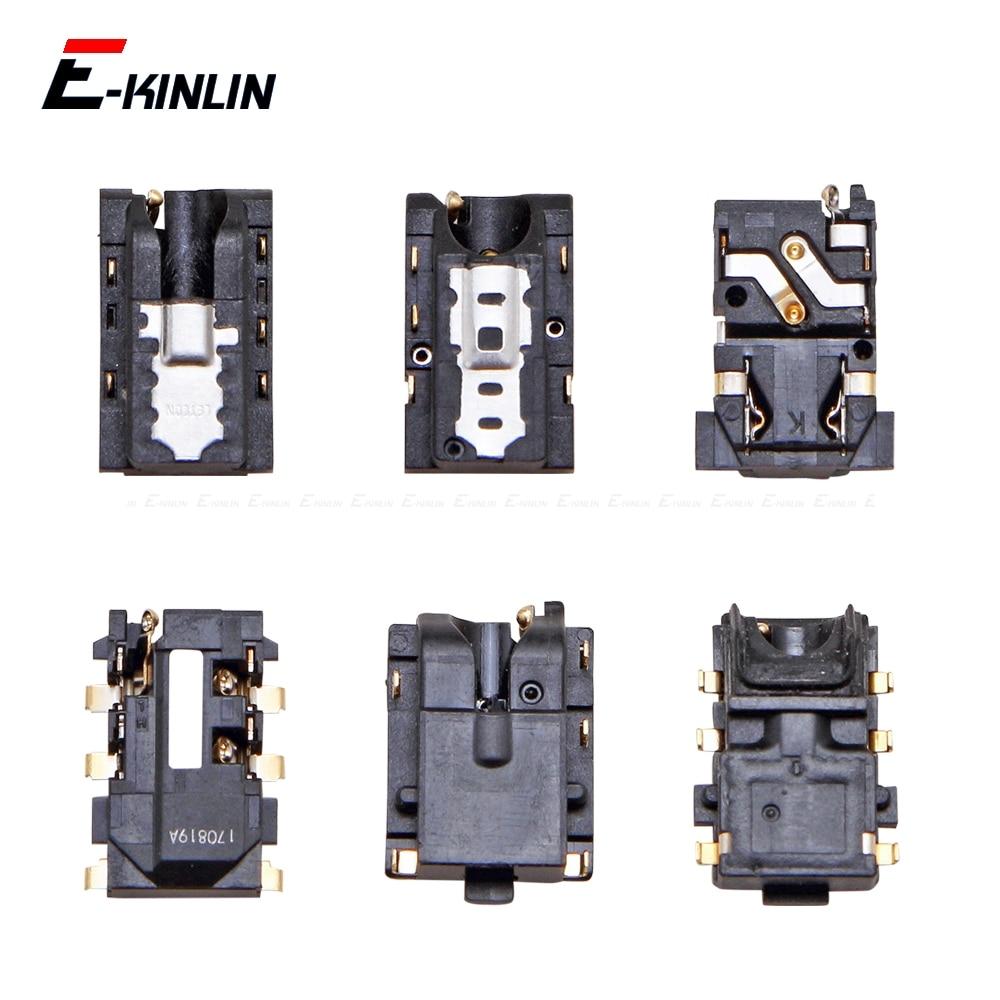 Headphone Jack Port Connector Ear Earphone Audio Flex Repair Parts For HuaWei Honor Play 7C 7A 7X 7S 6C 6A 6X 5C Pro