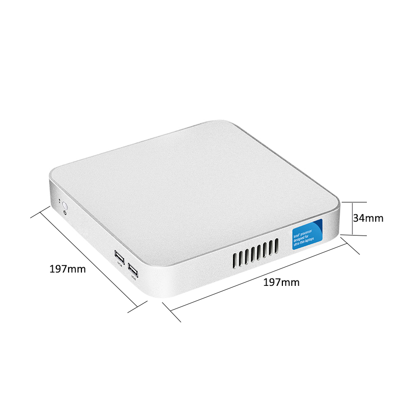 XCY Mini PC with Intel Core i7 i3 i5 Processor option and Gigabit LAN including 6xUSB Ports 2