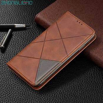 Redmi Note 7 Pro luksusowe skórzane etui z klapką portfel dla Xiaomi Mi 9t K20 Pro pokrywa magnetyczny stojak Redmi 7 7a K20pro etui na karty