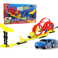 Toy Car Douyin Camera Track High Speed Race Car Children Warrior Small Car Wind Fire Fly Jump Shooting Foreign Trade AliExpress