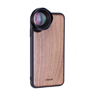 Image 4 - Ulanzi 16MM Wide Angle Lens 10X Macro Lens with Phone Case for iPhone X XS Max Anamorphic Lens Camera Phone Lens CPL Adapter
