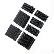 127Pcs 2:1 Heat Shrink Sleeving Tube Connection Electrical Wire Wrap Cable Waterproof Assortment Kit Electrical Heat Shrinkable
