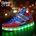 Светящиеся кроссовки для мальчиков  светящиеся кроссовки с подсветкой  Детские кроссовки с USB подсветкой  кроссовки с подсветкой  размер 26-37