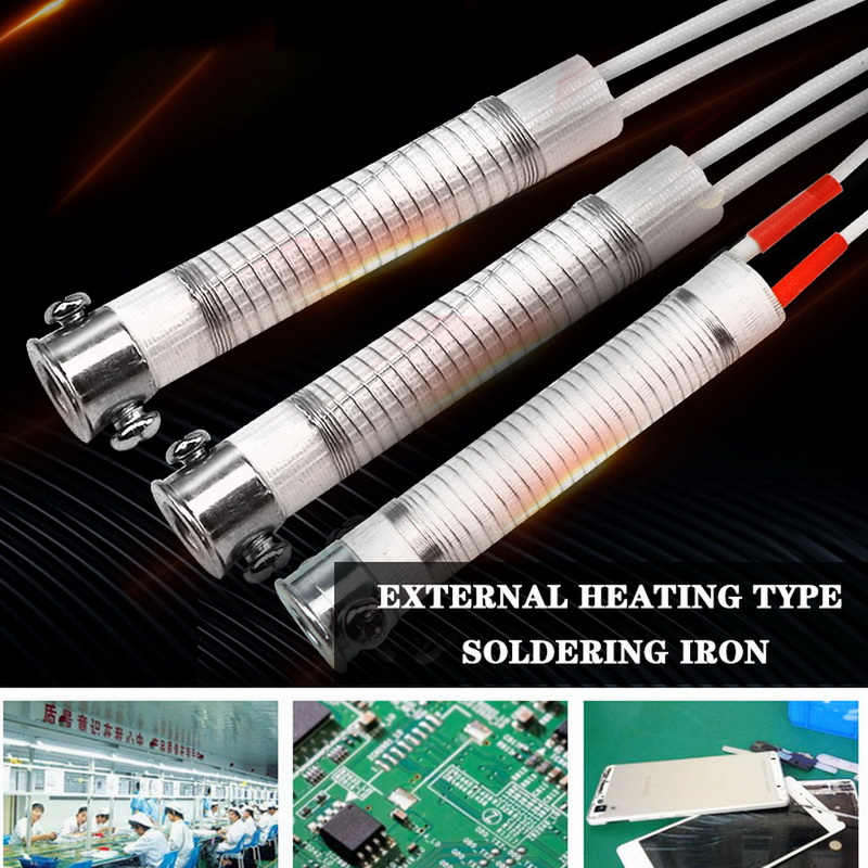1Pc 30/40/60/ 80/100W Soldering Iron Core Heating Element Replacement Welding Metalworking Tool Accessory For Electronic Lovers