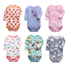 New Summer Baby girls Boys Romper long Sleeve infant rompers Jumpsuit cotton Baby Rompers Newborn Clothes Kids clothing бокорезы mr logo усиленные 180 мм