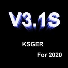 KSGER 2020 New Arrival Russian V3.1S T12-K,BC2,BC3,ILS,D24,B,KU Solder Tips STM32 OLED T12 Soldering Station Gift For Boy Friend