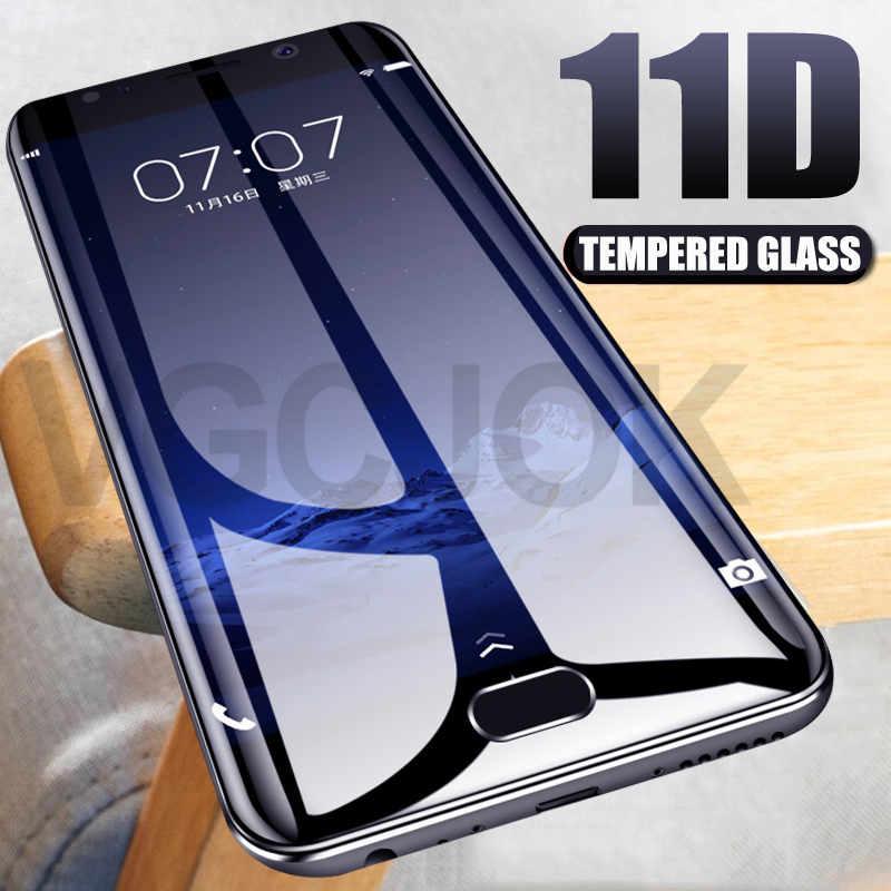 11D Full Cover Protective Glass For Meizu M5 M6 M8 Note M8 Lite M5C M5S M6S M6T M8C X8 Tempered Glas Screen Protector Film Case