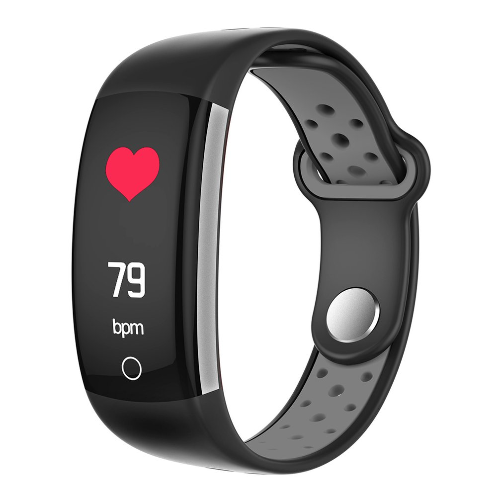 Q6 Color Screen Smart Bracelet 0.96 Color Screen Real-Time Heart Rate Monitoring Information Push Call Reminder Waterproof