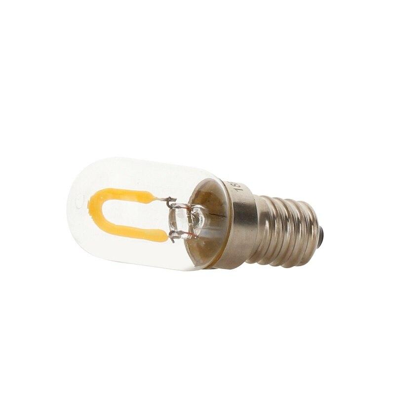 Vintage Retro T20 E14 SES LED Filament COB Bulb Warm White 1W 220V Glass Lamp Replace Halogen Chandelier Pendant Lamp Lighting