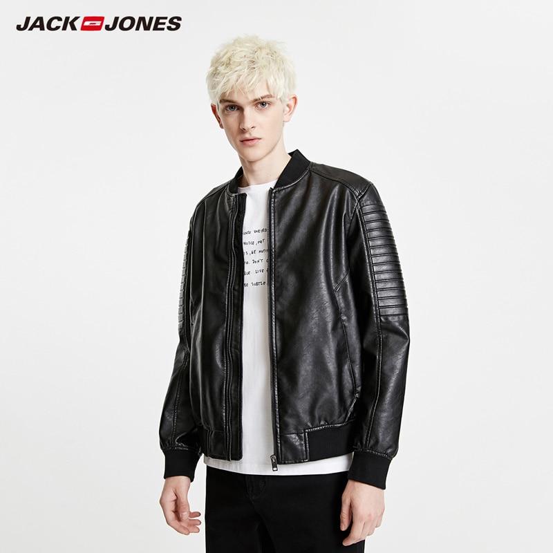 JackJones Men's Spring Baseball Collar Plaid Jacket Casual Fashion Style Trend Coat Menswear|219121518