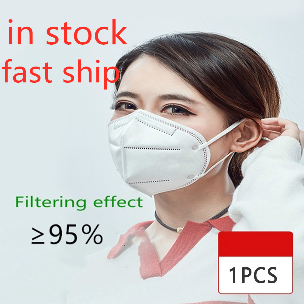 1/2/5/pcs Reusable N95 Mask 95% Filtration CE Certification Breathable Anti Dust Anti-fog KN95 Masks Features As KF94 FFP3
