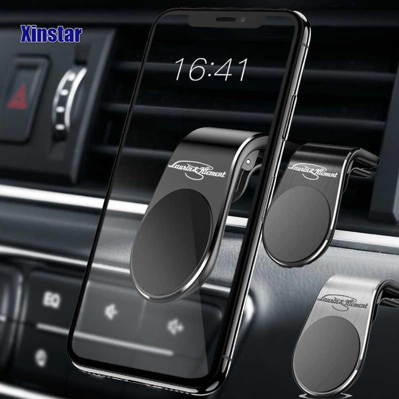 Pemegang telepon mobil stiker Mobil stylingAccessories untuk Untuk Skoda MK2 Kamiq Fabia Cepat Yaris Kodiaq Octavia Luar Biasa Scala Karoq
