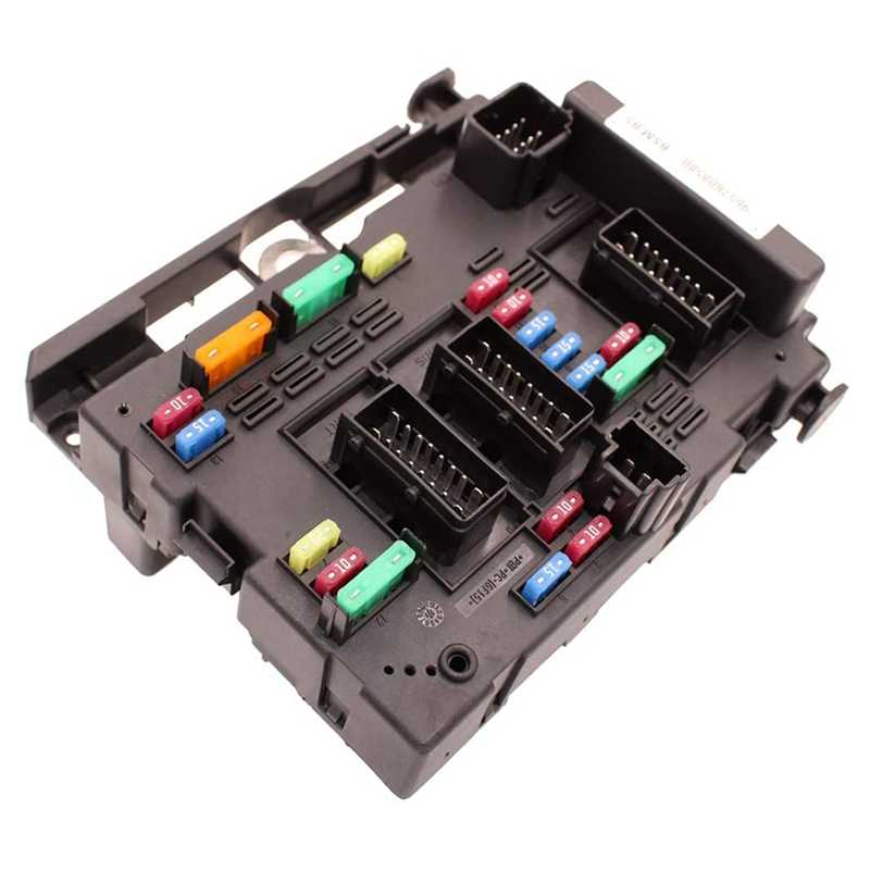 Car Fuse Box 9657608580 9650618280 Fits for Peugeot 206 207 C2 307 Picasso Senna