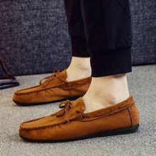 Модная мужская качественная обувь на плоской подошве; Удобный