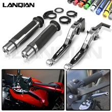 For Honda PCX125 PCX150 Motorcycle CNC Brake Clutch Lever & 7/8 22MM Handlebar Grips PCX 125 150 All Year Accessories