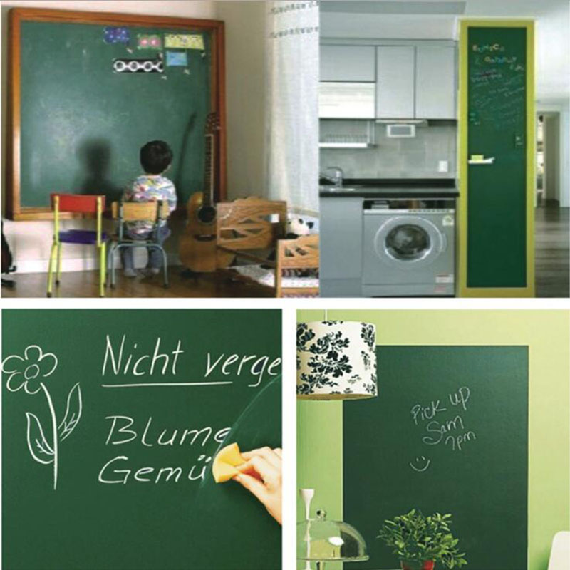 Promote╞Sticker Erasable-Paste Stationery Removable Writing-Drawing Waterproof Green 45x100cmΔ