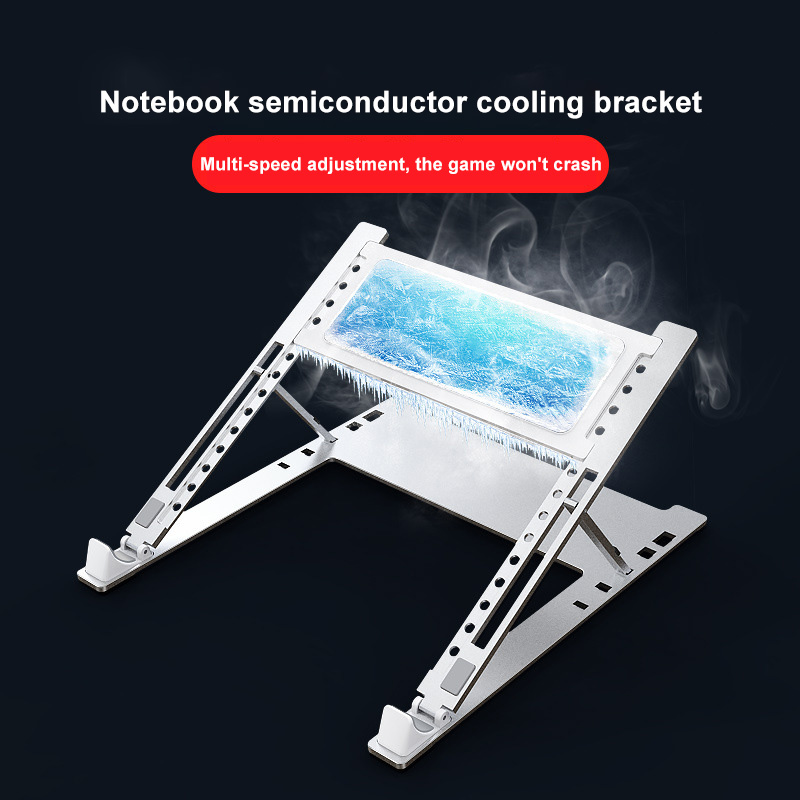 Laptop Stand Support Base Notebook Holder Table For Macbook Xiaomi Dual Fan Laptop Cooler Notebook Cooling Pad Bracket Portable