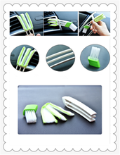 Car clean brush air conditioner computer blinds care For KIA RIO K3 K4 K5 Sportage SORENTO venga Hyundai Avante Sonata(China)