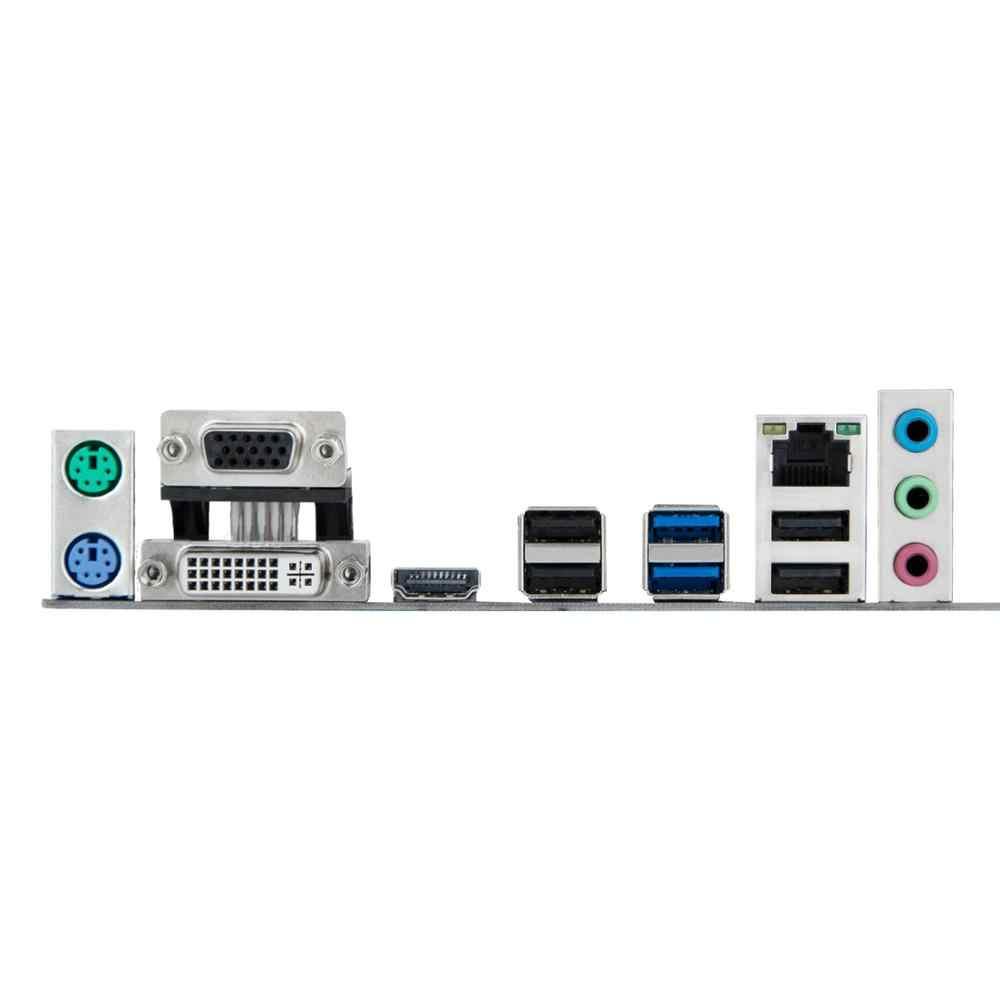 HUANANZHI B75 LGA1155 M-ATX اللوحة مع VGA/HDMI/DVI ميناء خصم اللوحة مع RAM DDR3 2 قنوات 2 سنوات الضمان