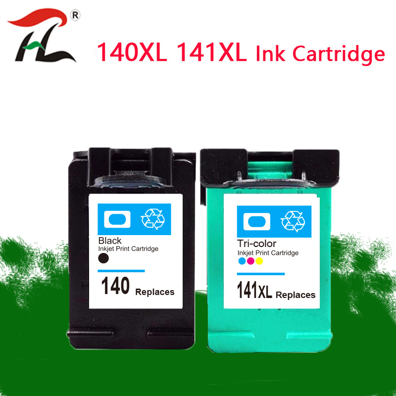 Compatible <font><b>140</b></font> <font><b>141</b></font> XL Ink Cartridge Replacement For <font><b>HP</b></font> <font><b>140</b></font> <font><b>141</b></font> Photosmart C4283 C4583 C4483 C5283 D5363 D4263 Printer image