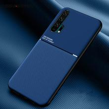 Leather Texture Matte Case Cover For Huawei P30 P20 Honor V3