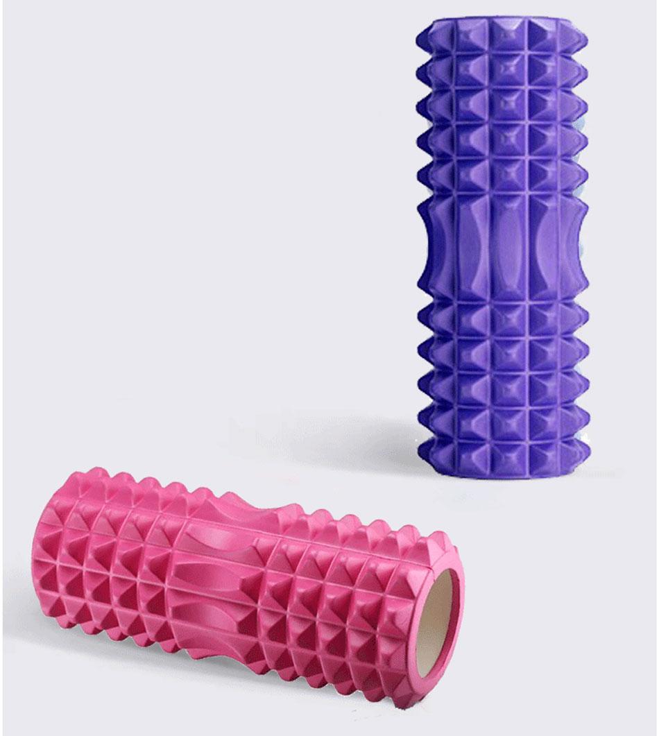 coluna de exercícios, fitness, feminino, rolo de
