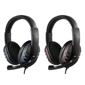 Image 2 - 3.5mm Wired משחקי אוזניות על אוזן משחק אוזניות רעש ביטול אוזניות עם מיקרופון נפח שליטה חכמה למחשב טלפון