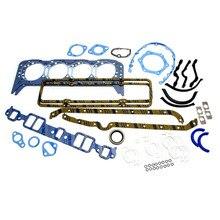 Двигатель Восстановленный Железный Впускной выхлопной Ремонт полная замена прямая посадка прочные детали уплотнения ремонт комплект прокладок для Chevy 350