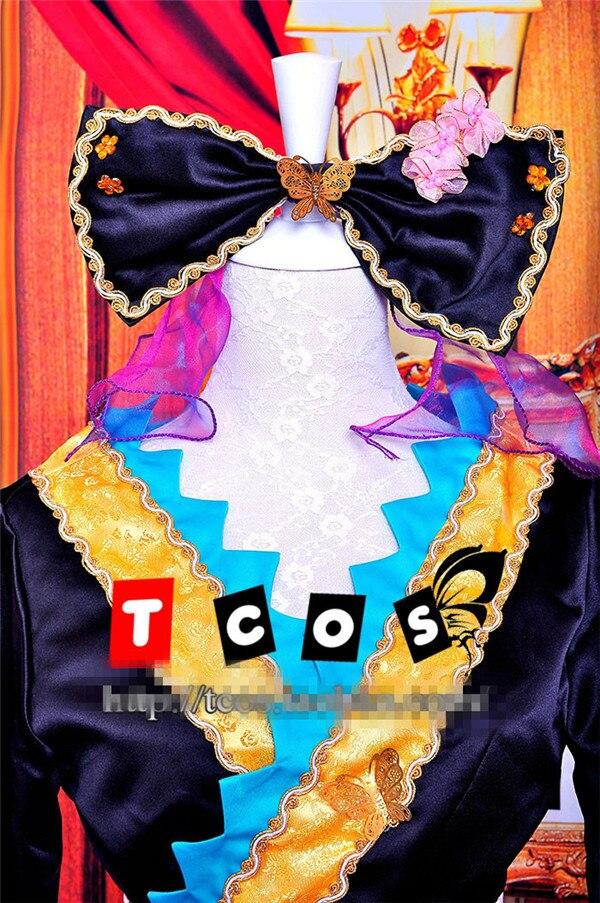 Vocaloid Hatsune Miku Magnete di Halloween Di Natale Cos Anime Del Partito di Cosplay Del Costume Uniforme Cortigiana Kimono Abbigliamento - 4