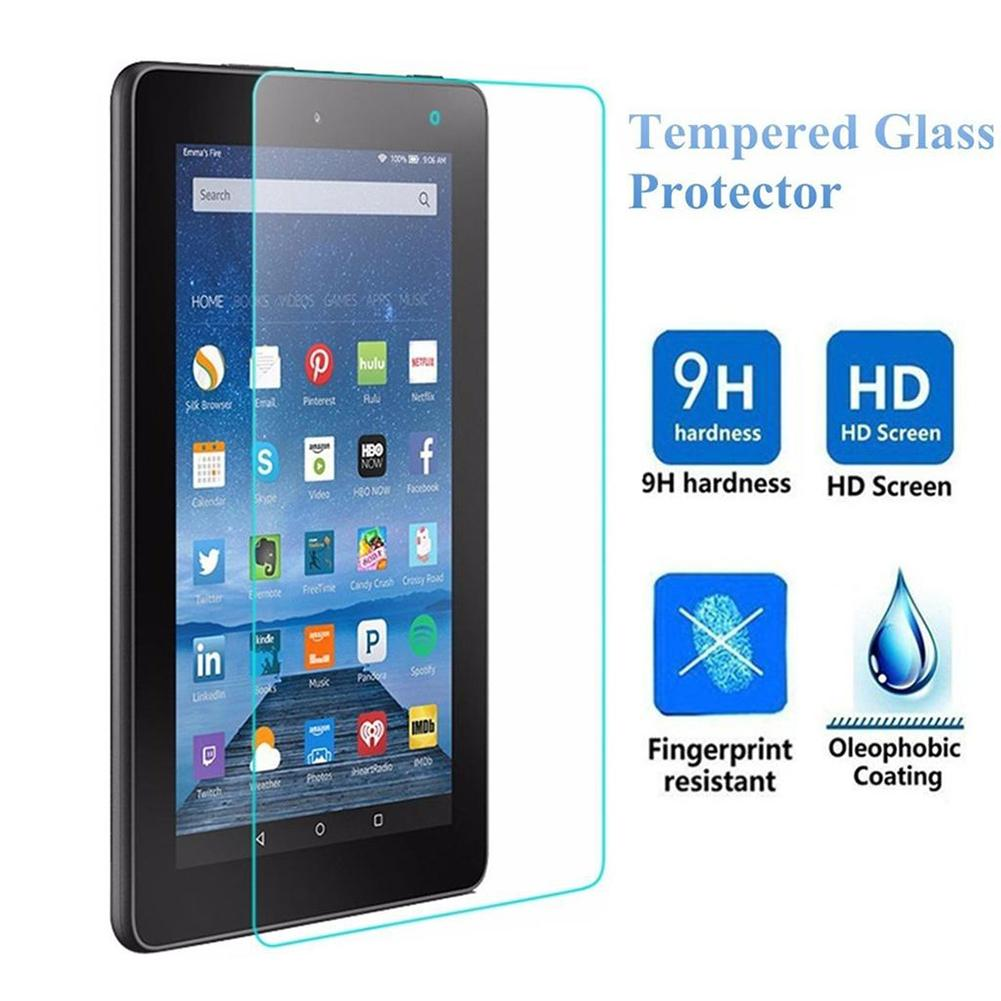 2Pcs Real  Tempered Glass Screen Protector For Amazon Kindle HD 8 2016 2017 2018