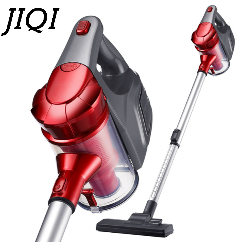 JIQI Vacuum Cleaner Household Hand Held Carpet Type Ultra Quiet, Small, Mini, Large Power, Strong Dust Cleaning Machine