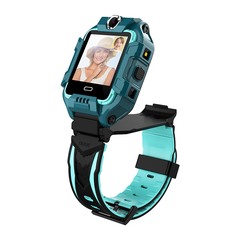 New Y99A Watch 4G SIM Card GPS SOS WiFi 360 Degree Rotary Face Recognition Dual Camera Waterproof Children's