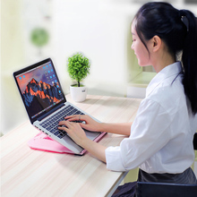 Adjustable Laptop Stand Computer Desk Tablet Notebook Holder Bracket Standing Desk Accessories JR Deals