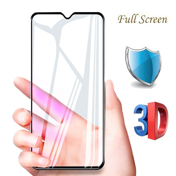 Перейти на Алиэкспресс и купить 5D полное покрытие закаленное стекло Для Doogee N20 Y9 Plus Защита экрана для Doogee Y8 y8C 6,1 дюймов полная клеевая защитная пленка, стекло