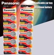 Panasonic bateria de lítio de qualidade superior, 10 peças/lote, 3V íon de lítio, bateria de relógio em formato de botão, redonda, cr2016 cr 2016 DL2016 ECR2016 GPCR