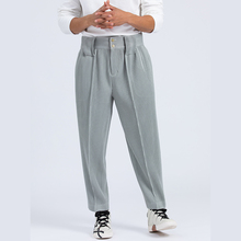 IEFB Men's Clothing Japanese Streetwear Fashion Pleated Pants Spring Autumn Mid Seam Casual Trousers For Man Harem Pants 9Y4319